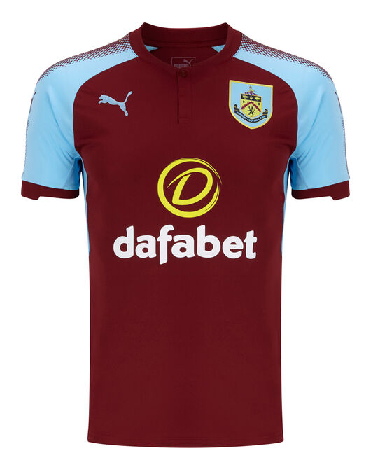 Adult Burnley Home 17/18 Jersey