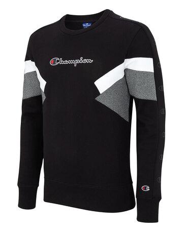 Mens Colour Sport Crew Neck Sweatshirt