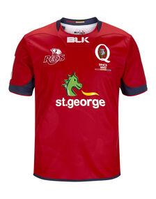 Adult Queensland Reds Home Jersey