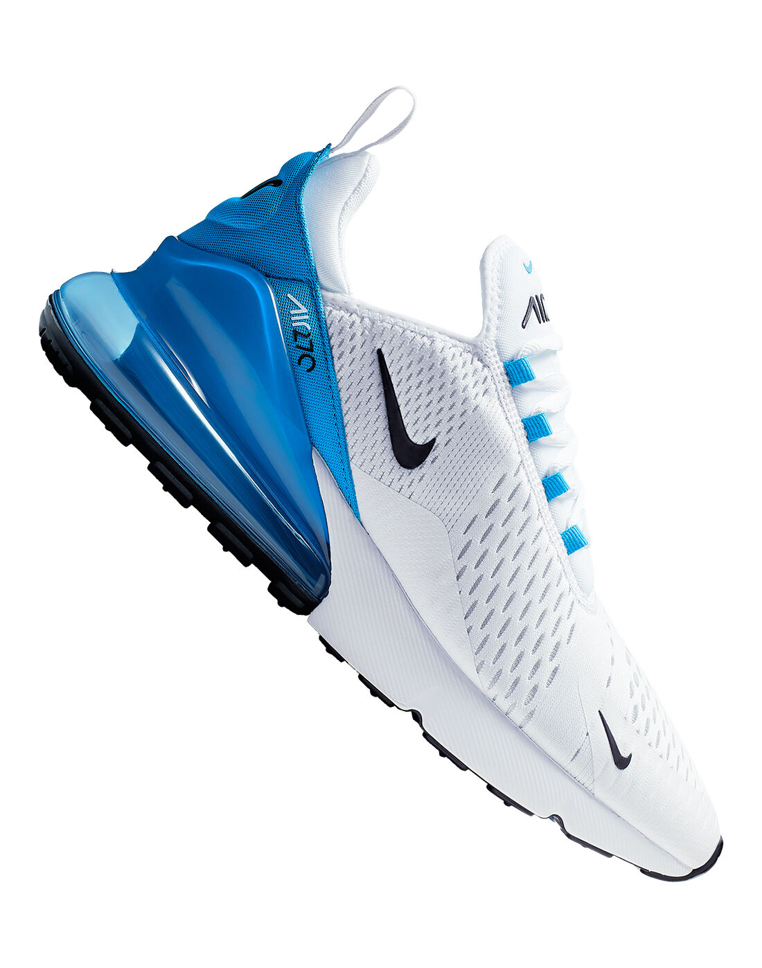 Men's Blue \u0026 White Nike Air Max 270