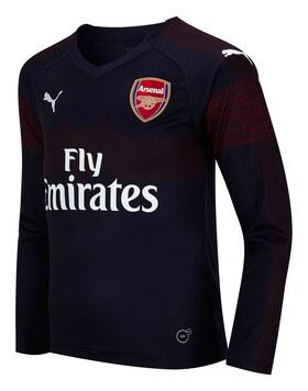 Kids Arsenal 18/19 Away LS Jersey