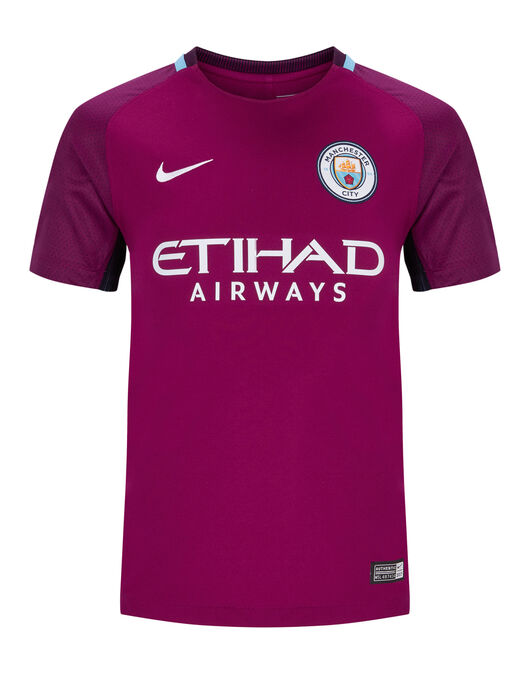 Man City Kids 17/18 Away Jersey