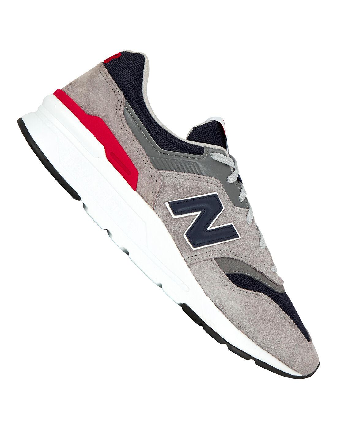 Grey \u0026 Navy New Balance 997 Trainer