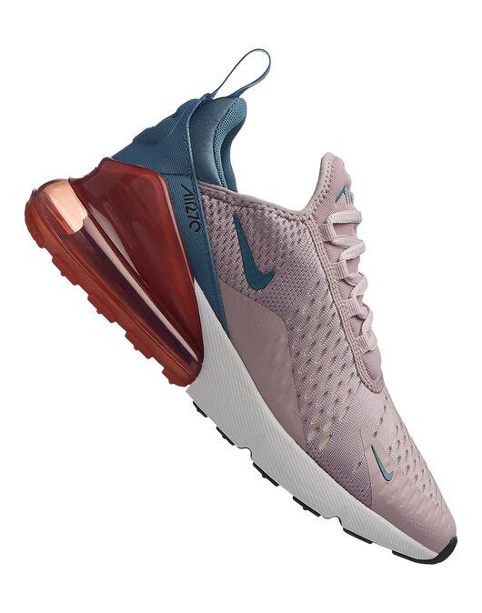 Women s Pink Nike Air Max 270  b81143dcdb