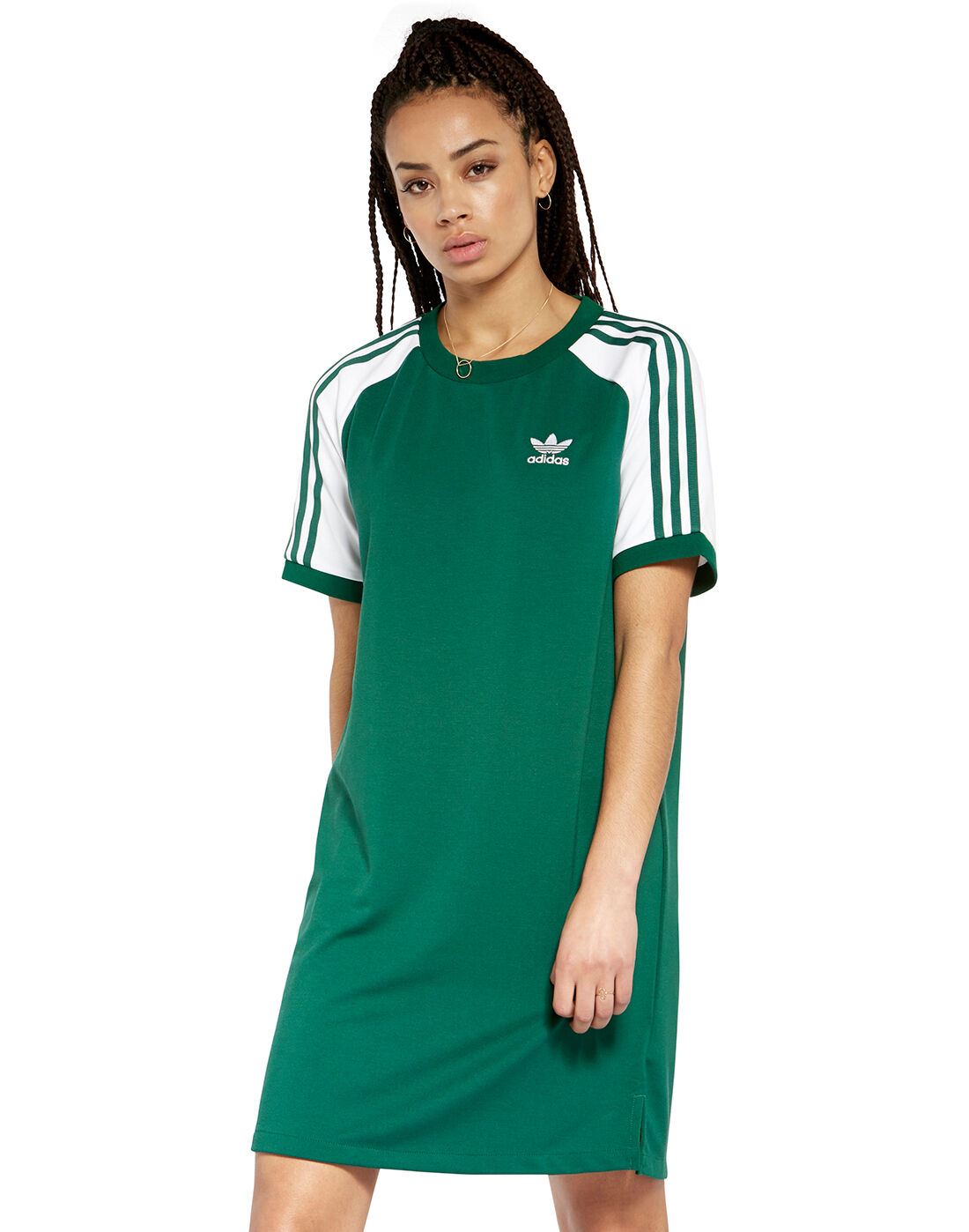 Women's Green adidas Originals Dress | Life Style Sports