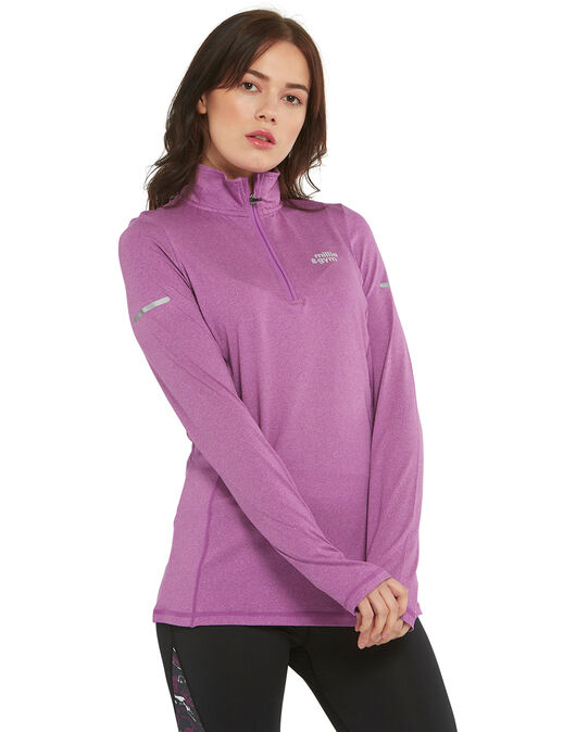 Womens 1/2 Zip Top