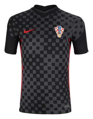 Kids Croatia Euro 2020 Away Jersey