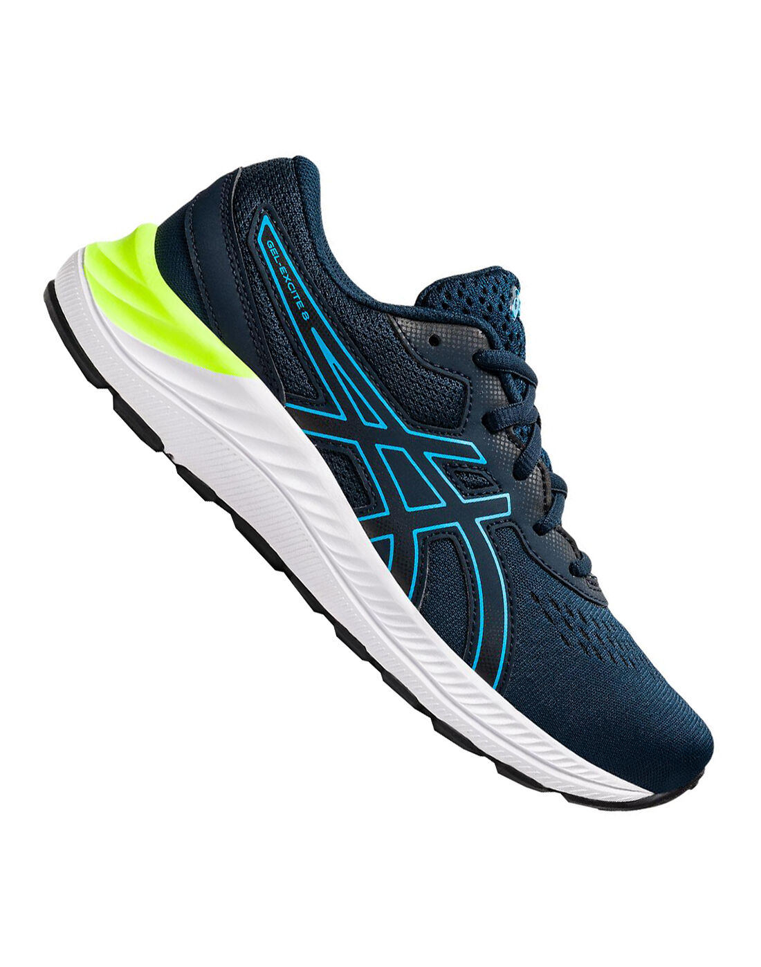 Asics Older Boys Gel-Excite 8 - Black | Life Style 7south Sports IE