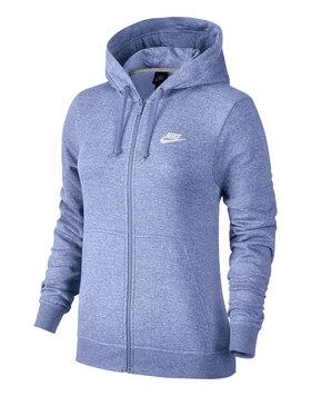 Womens Fleece Full Zip Hoody