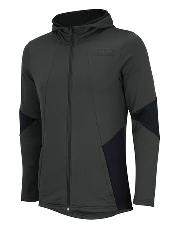 Mens Gametime Full Zip Fleece Top