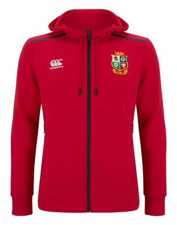 Adult British And Irish Lions Full Zip Tech Hoodie