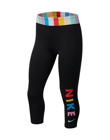 Older Girls One Capri Leggings