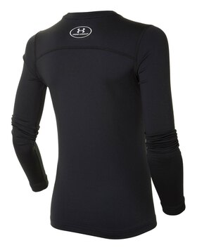 Boys Coldgear Fitted Long Sleeve Crew