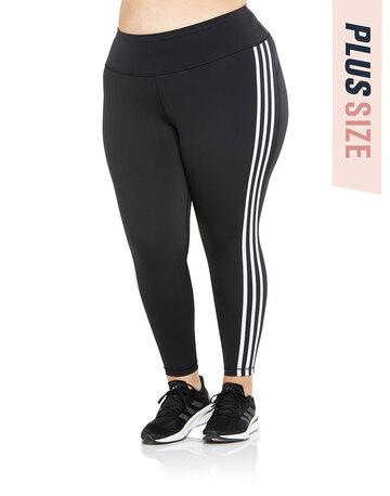 Womens 3-Stripe Plus Leggings