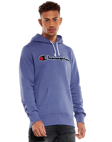 Mens Full Logo Hoodie