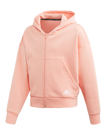 Older Girls 3-Stripes Hoodie