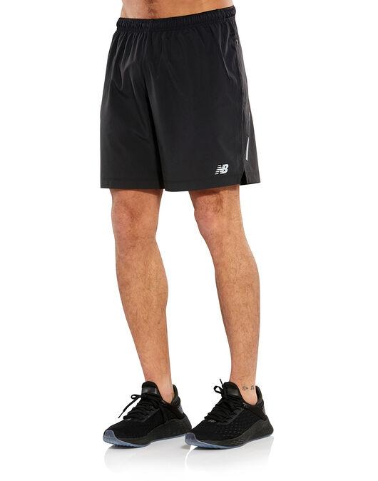 429db5e2e0bb3 Men's Black New Balance Shorts   Life Style Sports