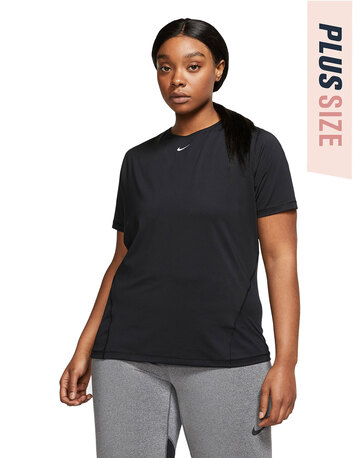 Womens Nike Pro All Over Mesh Plus T-shirt