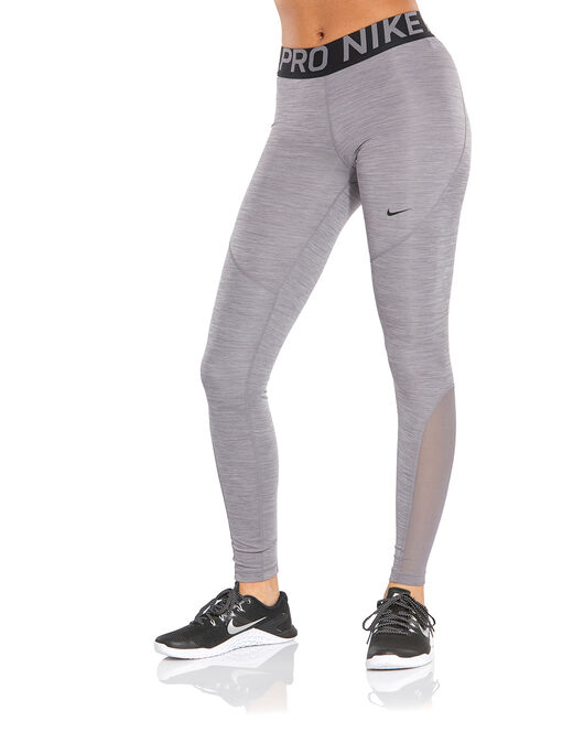 ba476723d1c04 Women's Grey Nike Pro Gym Tights | Life Style Sports