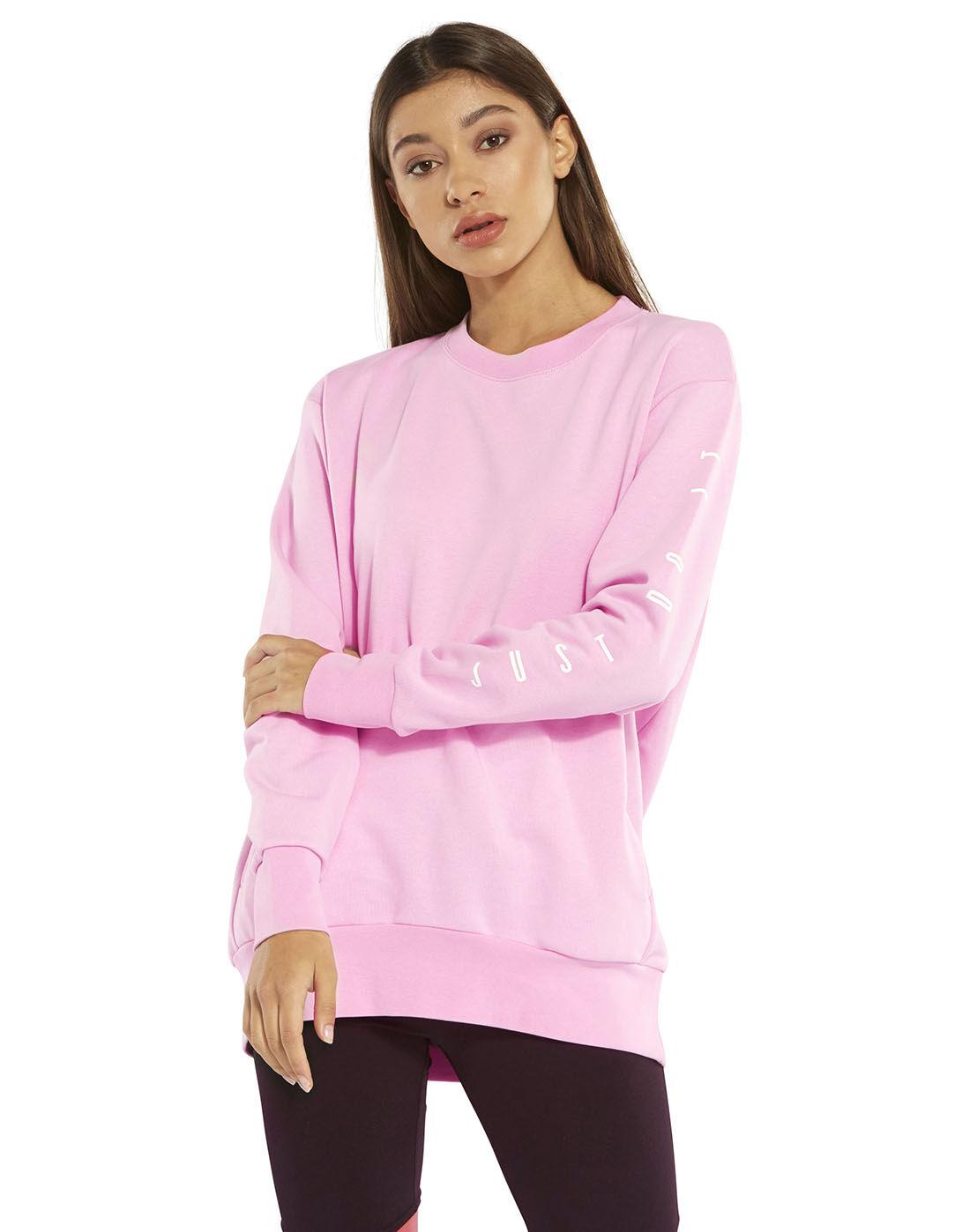 Women's Pink Nike Dry Sweatshirt   Life