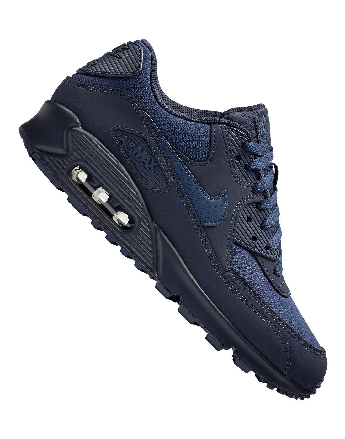 Men's Navy Nike Air Max 90 | Life Style