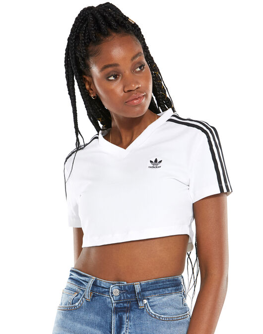 Womens Cropped T-Shirt