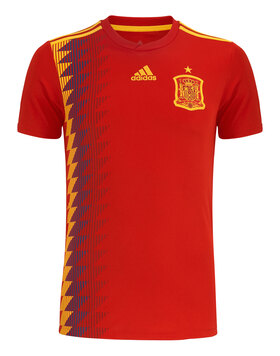 Adult Spain WC18 Home Jersey