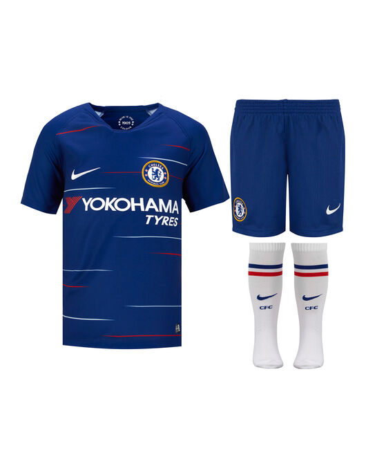 save off b8e0b d059b Nike Kids Chelsea Home 18/19 Kit