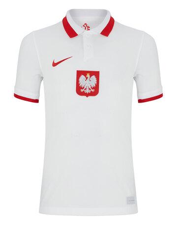 Kids Poland Euro 2020 Home Jersey