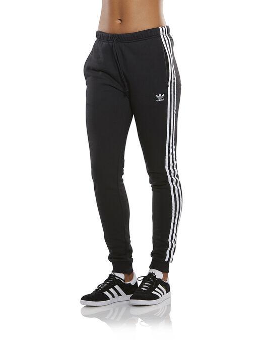 Women s Black adidas Originals Cuff Pants  51e096b1f2