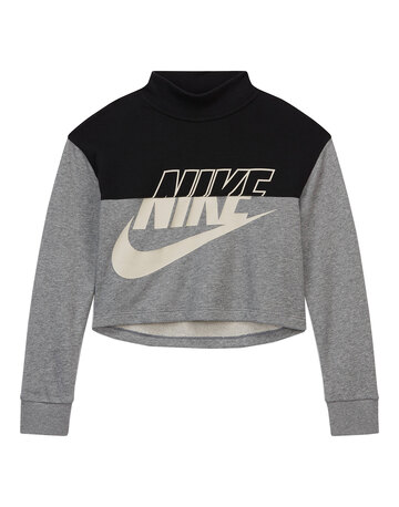 Older Girls Cropped Crewneck Sweatshirt