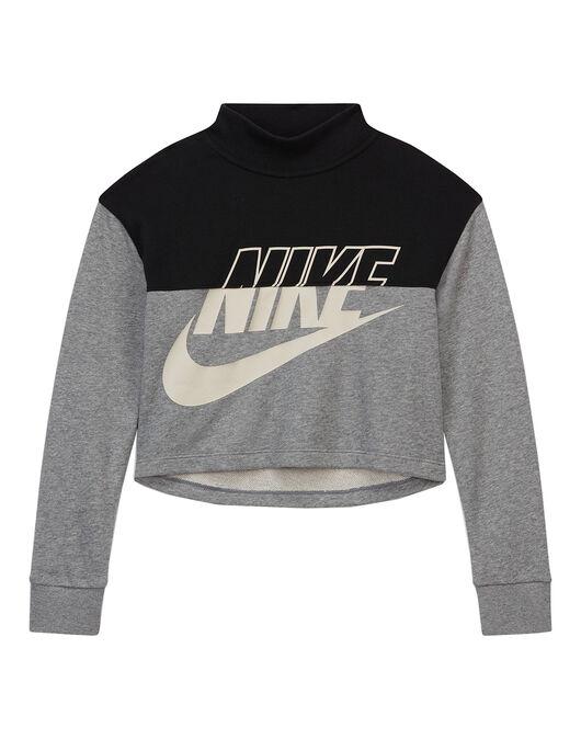 Older Girls Cropped Crewneck Sweatshirt
