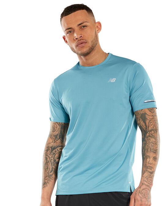 5bc59a30548da Men's Ice Blue New Balance T-Shirt   Life Style Sports