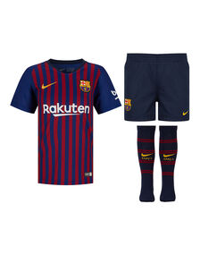Kids Barcelona 18/19 Home Kit