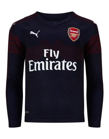 Kids Arsenal 18/19 Away LS Jersey