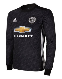 Adult Man Utd 17/18 Away Jersey LS