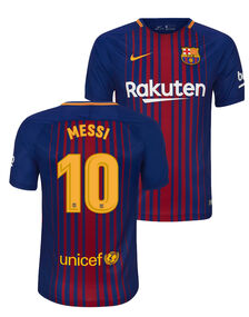 Adult Barcelona Messi Home Jersey