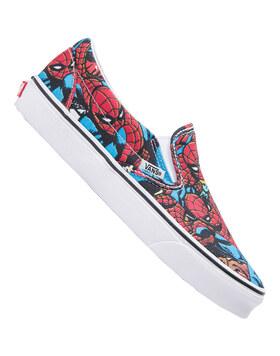 Mens Classic Slip On Marvel Spiderman