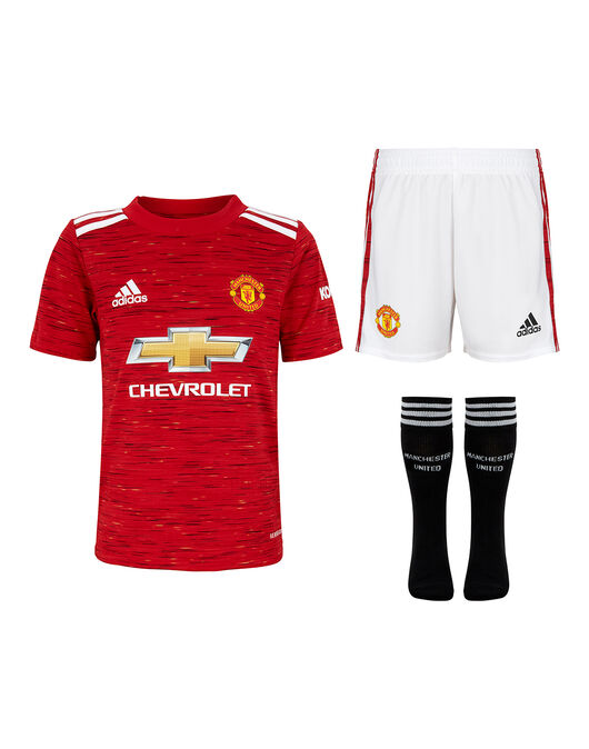 Kids Man Utd 20/21 Home Kit