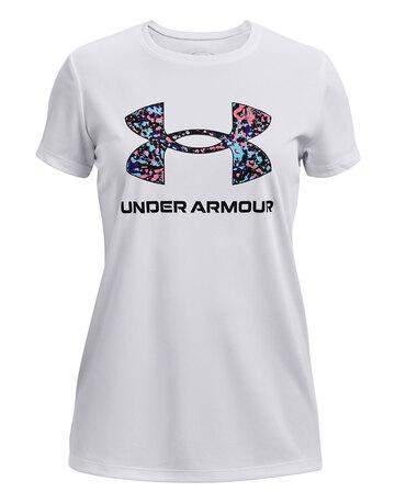 Older Girls Tech Solid Body T-shirt