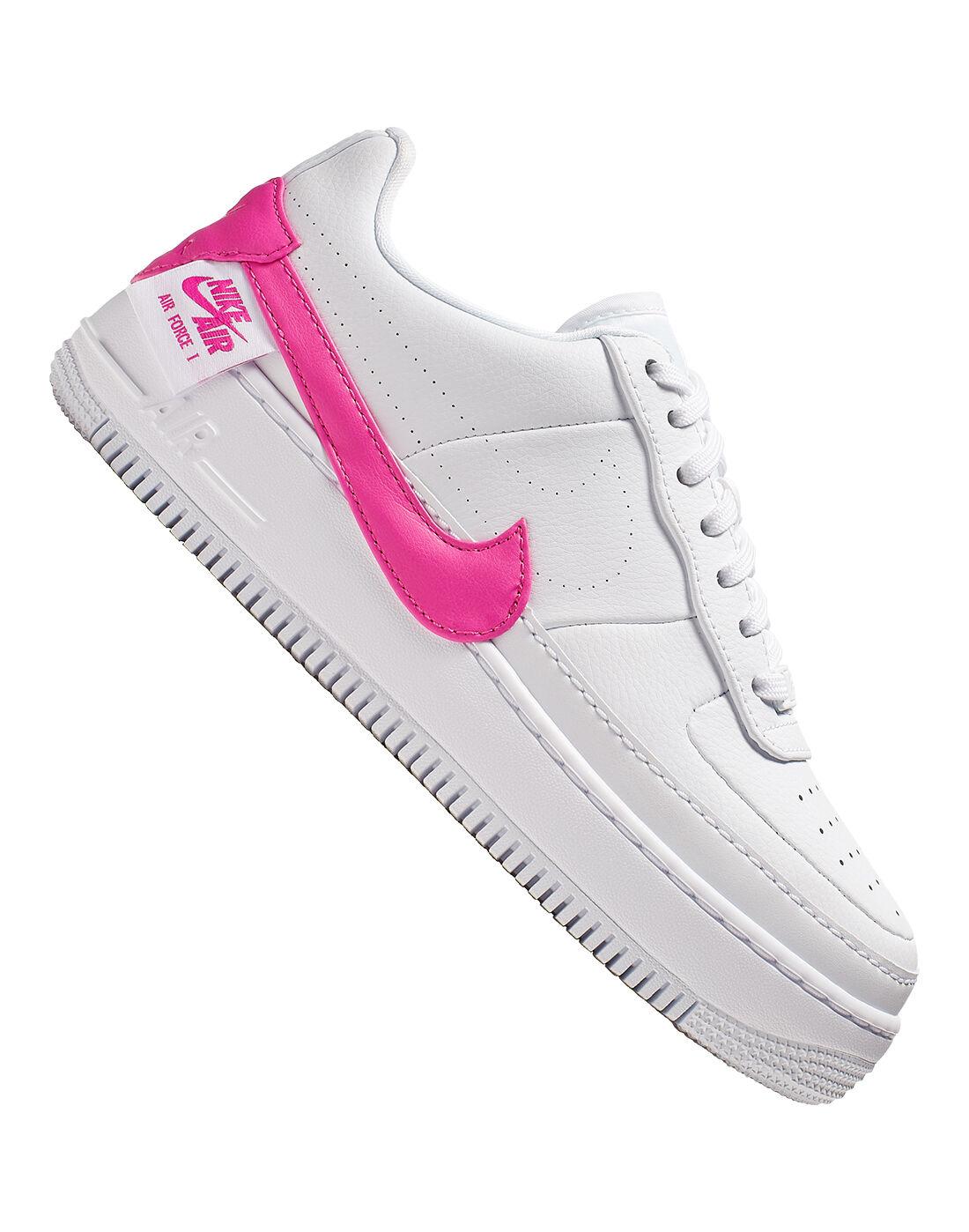 White \u0026 Pink Nike Air Force 1 Jester