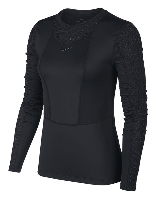 Womens Pro Warm Long Sleeve T-Shirt