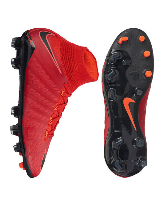 Kids Hyerpvenom Phantom FG Derby Pack