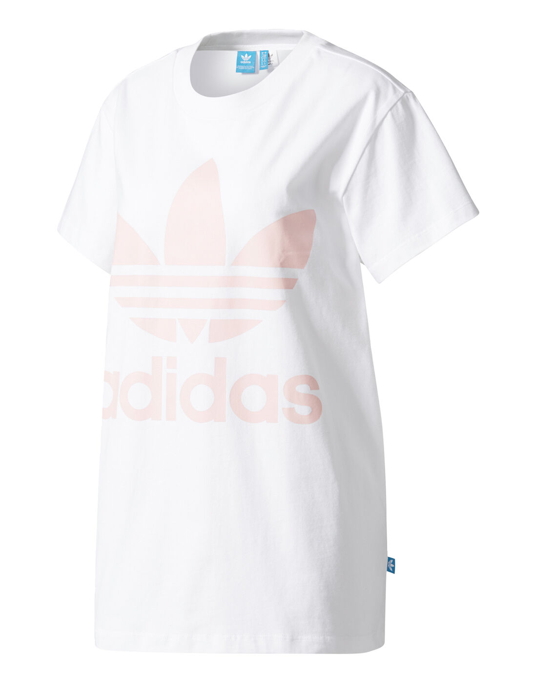 adidas Originals Womens Big Pink Trefoil T shirt | Life