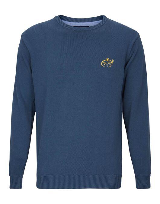 Mens Munster Cotton Crew Sweater