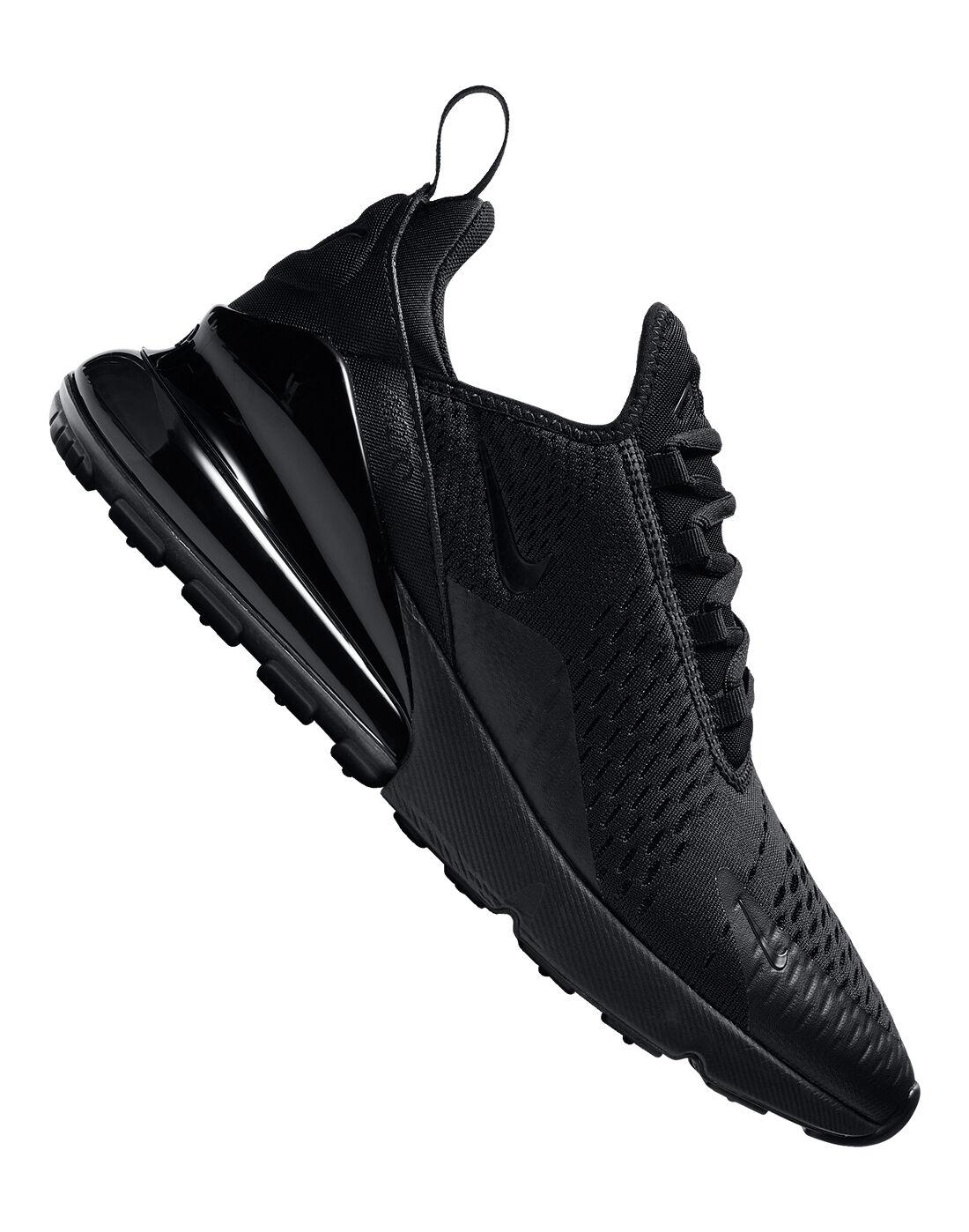 Nike Air Max 270 | Triple Black | Life