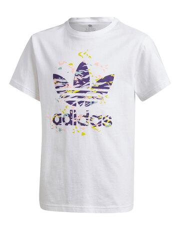 Older Girls Printed Trefoil T-Shirt