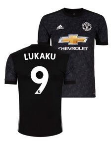 Kids Man Utd 17/18 Lukaku Away Jersey