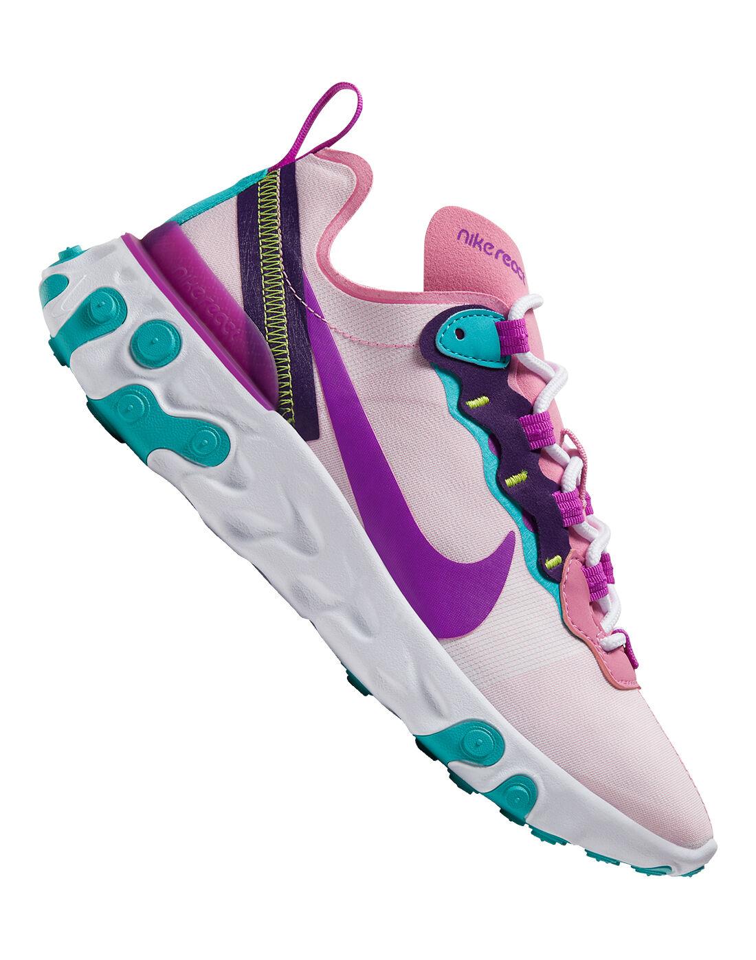 Nike Womens React Element 55 - Purple