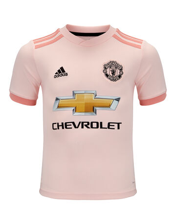 Kids Man Utd 18/19 Away Jersey